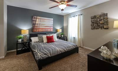 Bedroom, The Linc at Cypress Creek, 2