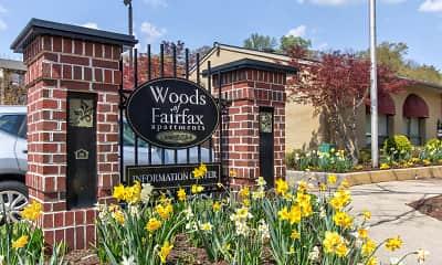 Community Signage, Woods of Fairfax Apartments of Lorton, 0