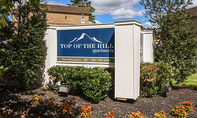 Community Signage, Top Of The Hill Apartments, 2