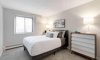 Bedroom, Tylia Apartments, 1