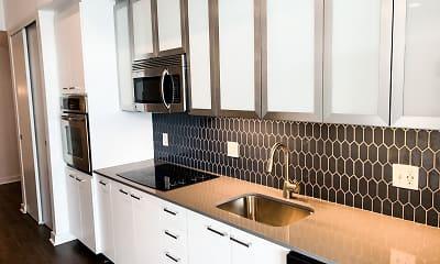 Kitchen, Infinity Lofts in the Gulch, 0
