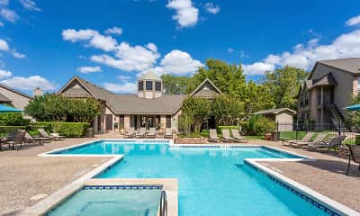 Pool, Chappell Hill Apartments, 0