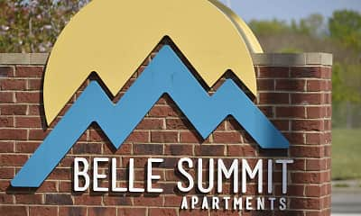 Community Signage, Belle Summit Apartments, 2
