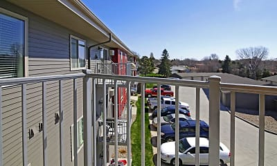 Patio / Deck, Veraway Apartments, 2
