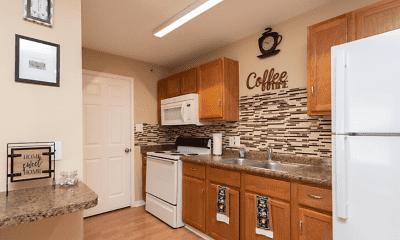 Kitchen, Swaying Oaks Apartments, 2