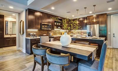 Kitchen, Gables Residences, 1