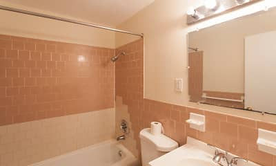 Bathroom, Spring Hill Commons, 2