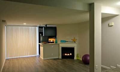 Living Room, Sutton Place Apartments, 1