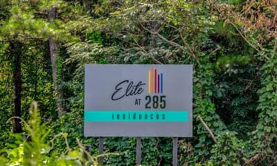 Community Signage, Elite At 285, 2