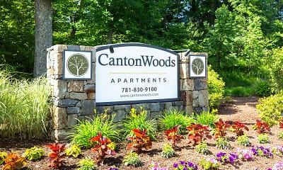 Community Signage, Canton Woods, 1