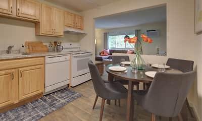 Kitchen, Rockingham Village Apartments, 0