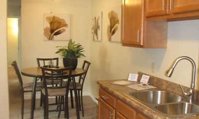 Kitchen, Wynhaven Apartments, 1