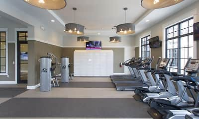 Fitness Weight Room, Shalimar At Davie, 2