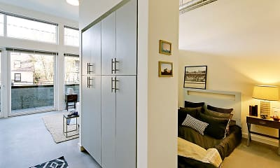 Bathroom, 19th & Mercer Apartments, 2