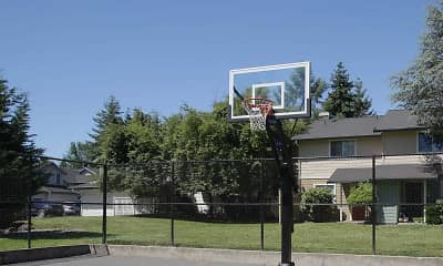 Basketball Court, Parklane Townhomes, 1
