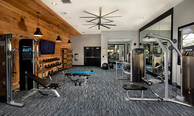 Fitness Weight Room, Solimar, 1