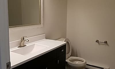 Bathroom, Sussex Apartments, 2