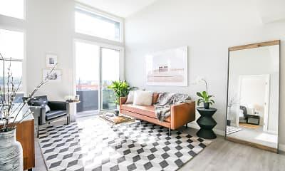 Living Room, CitiZen at Virgil Village, 0