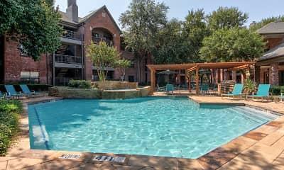 Pool, Oaks Hackberry Creek, 1