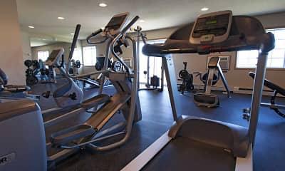 Fitness Weight Room, Roosevelt West, 1