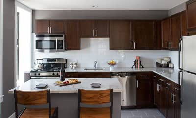 Kitchen, The Shoreland, 0