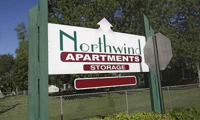 Community Signage, Northwind Apartments, 2