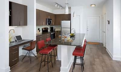 Kitchen, Camden Fourth Ward, 1
