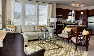 Living Room, The Yards at Fieldside Village, 1