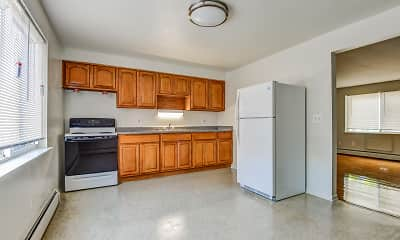 Kitchen, Parkside Apartments, 1
