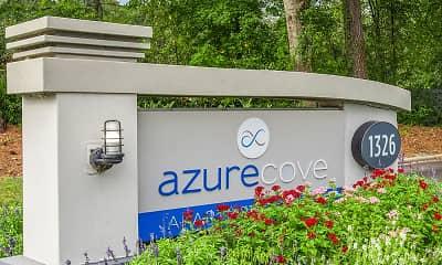 Community Signage, Azure Cove, 0