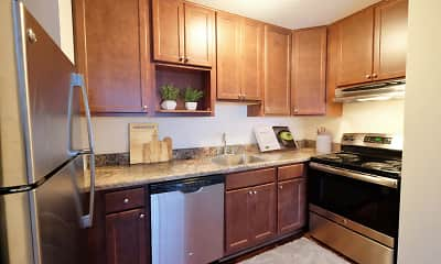 Kitchen, Dupont Avenue Apartments, 1