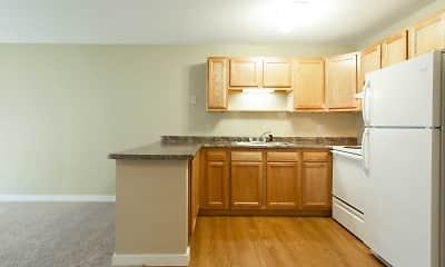 Kitchen, LaBlanche Apartments, 1