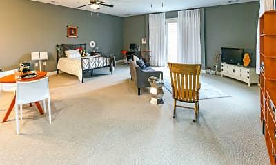 Living Room, Erie Station Village, 1