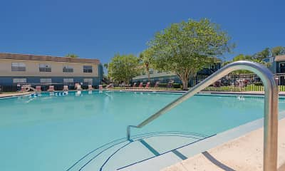Pool, Topaz Plaza Apartments, 1