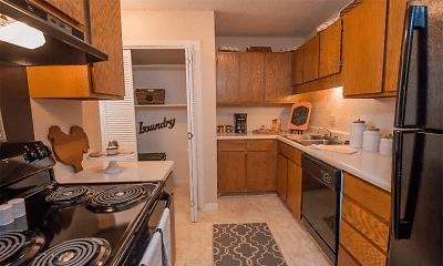 Kitchen, Mark Apts, 1