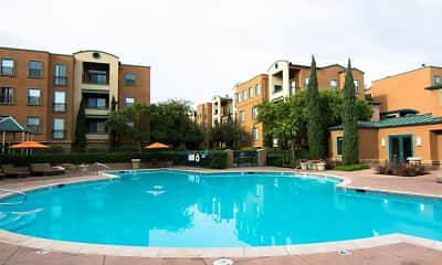 Pool, Bridgepointe Apartments, 2