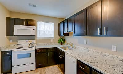 Kitchen, Green Acres Apartments, 0