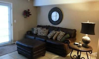 Living Room, Renata Lakes Apartments, 1