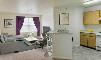 Living Room, Cortland Estates, 0