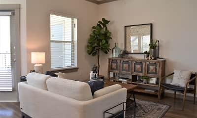 Living Room, Windmill Ranch, 1