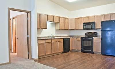 Kitchen, Brandt Place Apartments, 0