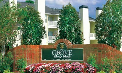 Community Signage, The Grove at Trinity Pointe, 1