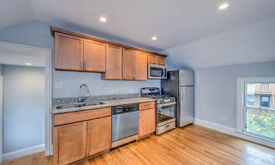 Kitchen, Oak Park Residence Corporation Apartments, 2