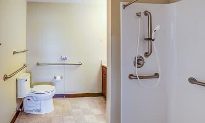 Bathroom, Valley Bridge Apartments, 2