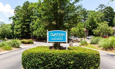 Community Signage, Ovation at 3500, 2