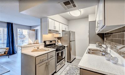 Kitchen, Sierra Vista Apartments, 0