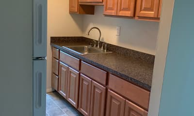 Kitchen, Towne Point, 1