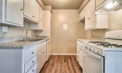Kitchen, Park Village Apartments, 1