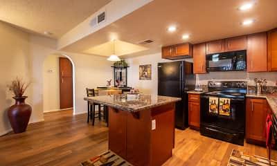 Kitchen, Desert Lakes, 1