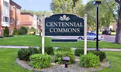 Community Signage, Centennial Commons, 2